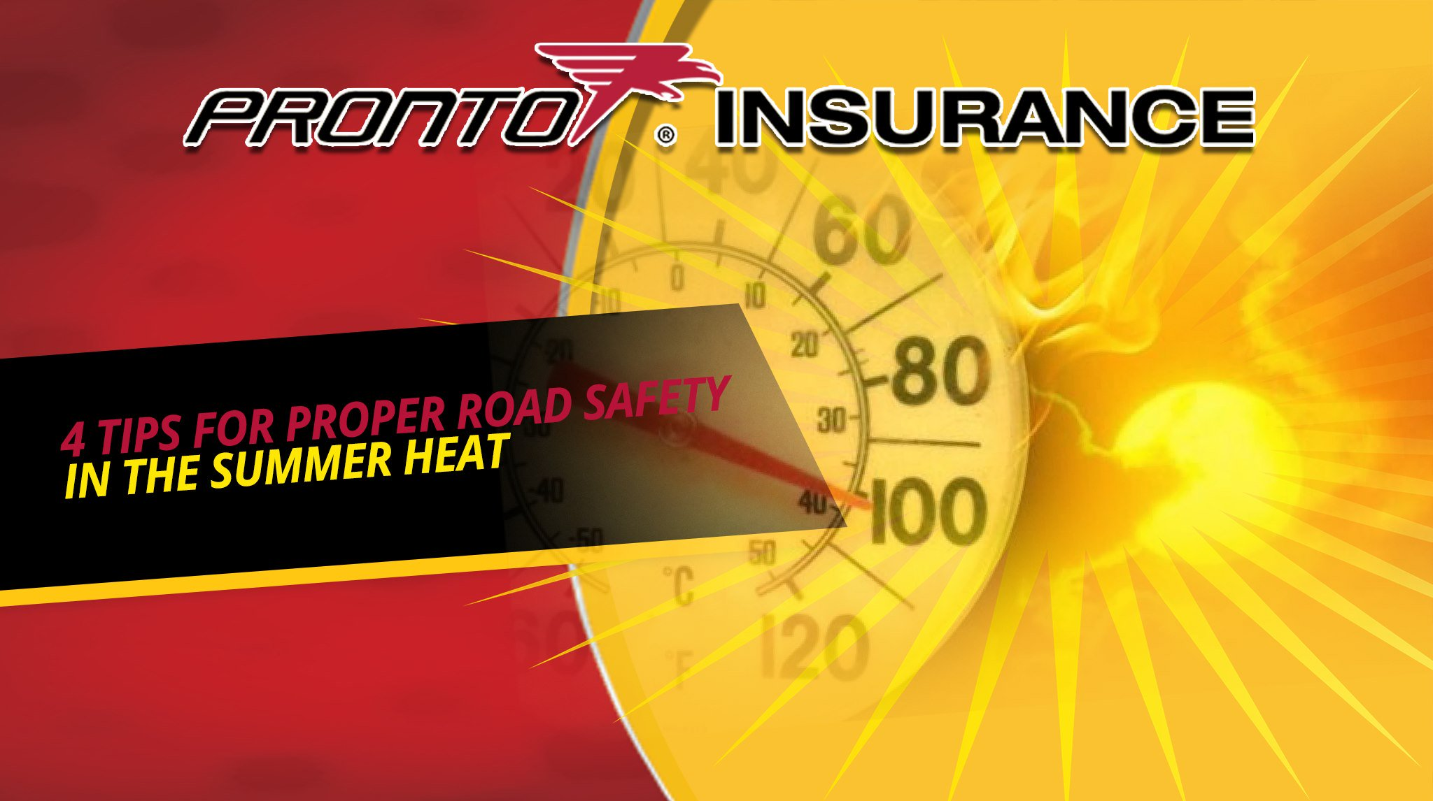 4 Tips for Proper Road Safety on Hot Days!