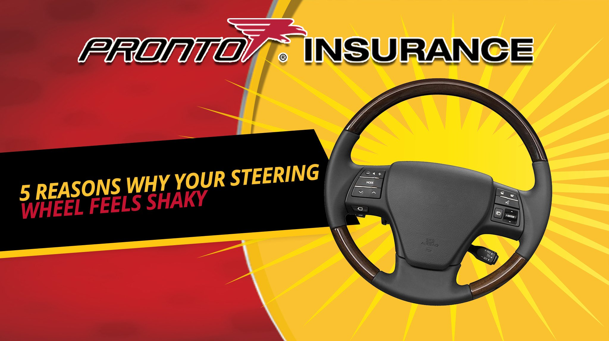 5 Reasons Why Your Steering Wheel Feels Shaky