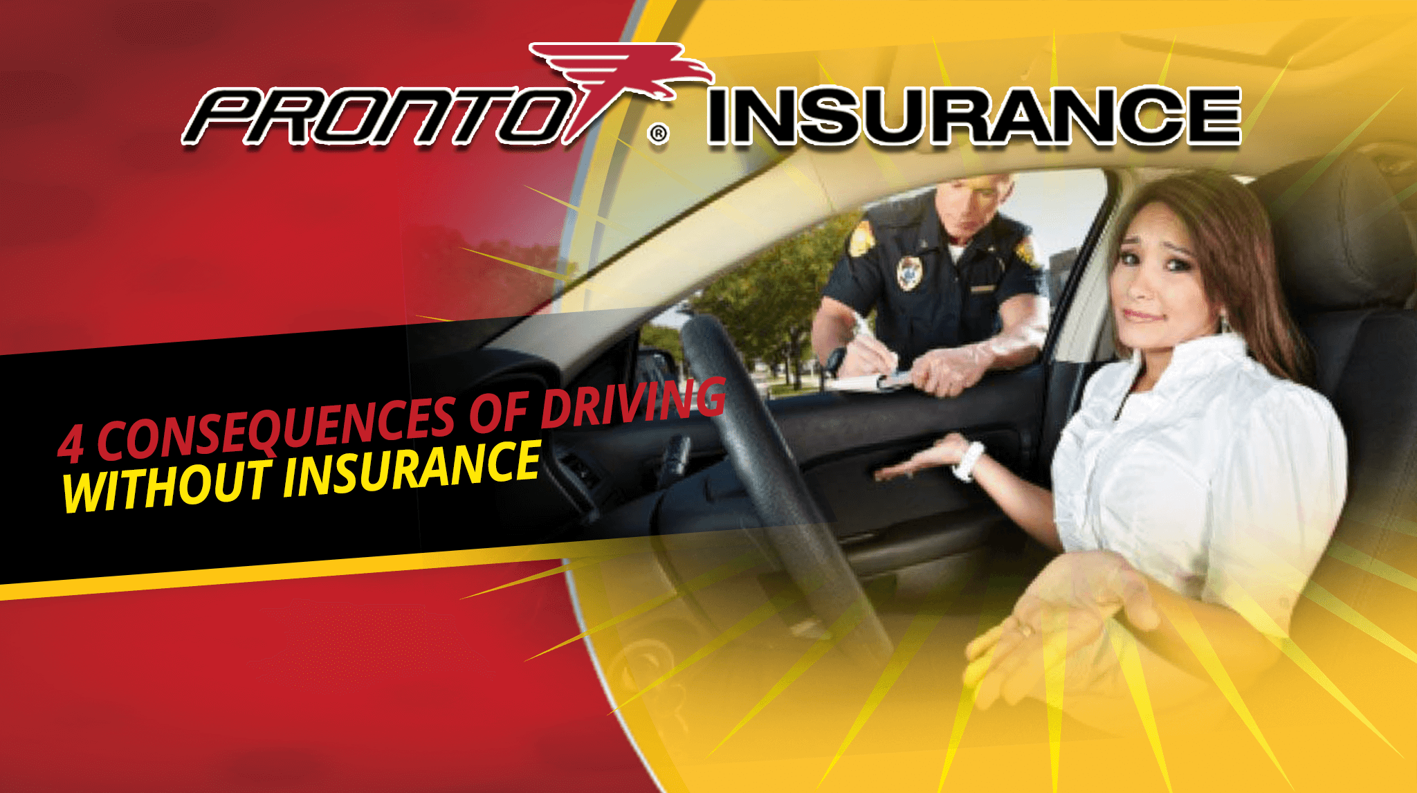 4 Consequences of Driving Without Insurance