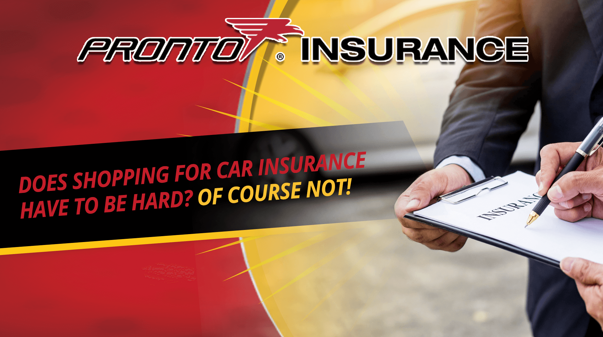 Does Shopping for Car Insurance Have to be Hard? Of Course Not!