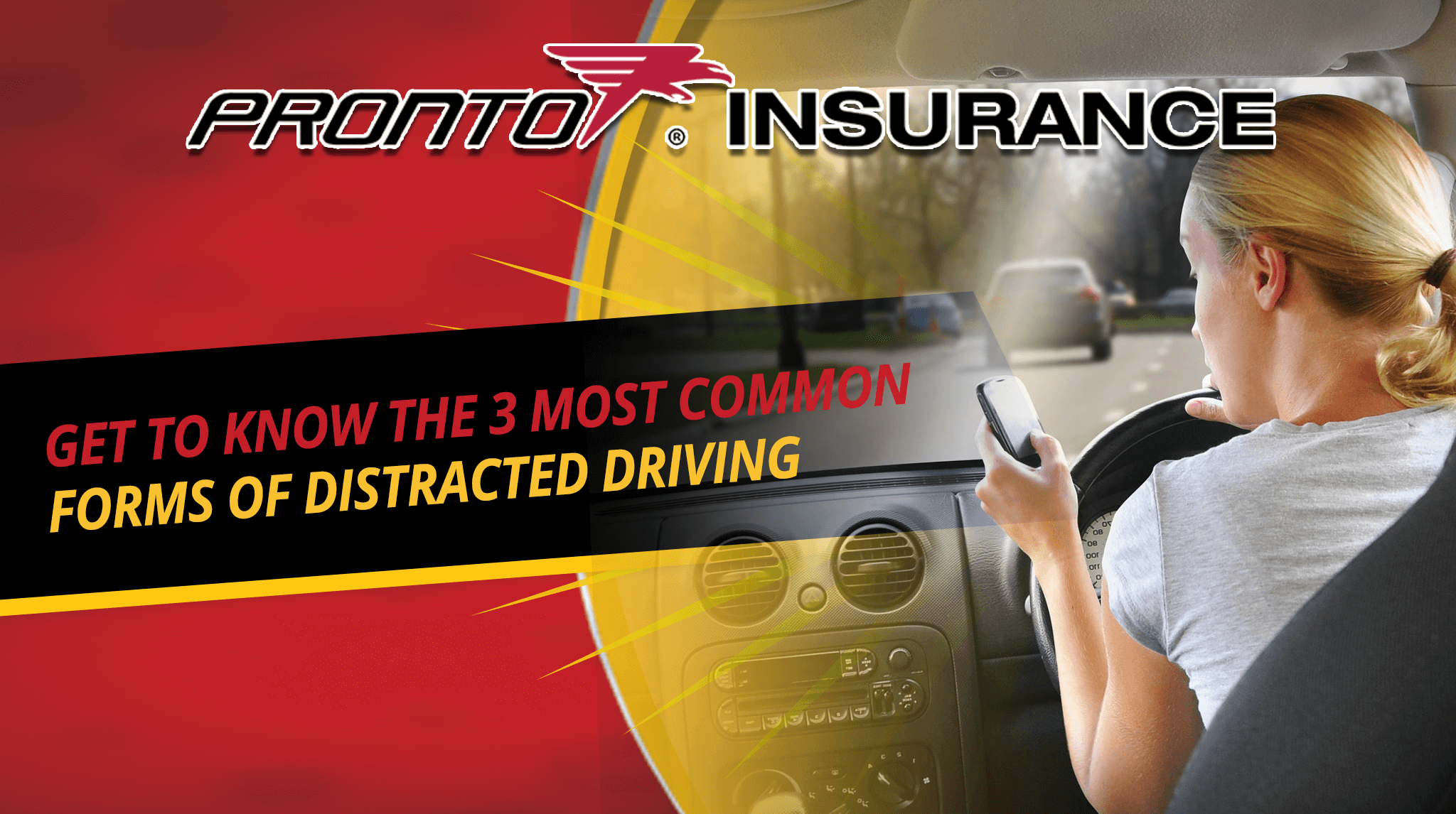 Get to Know the 3 Most Common Forms of Distracted Driving
