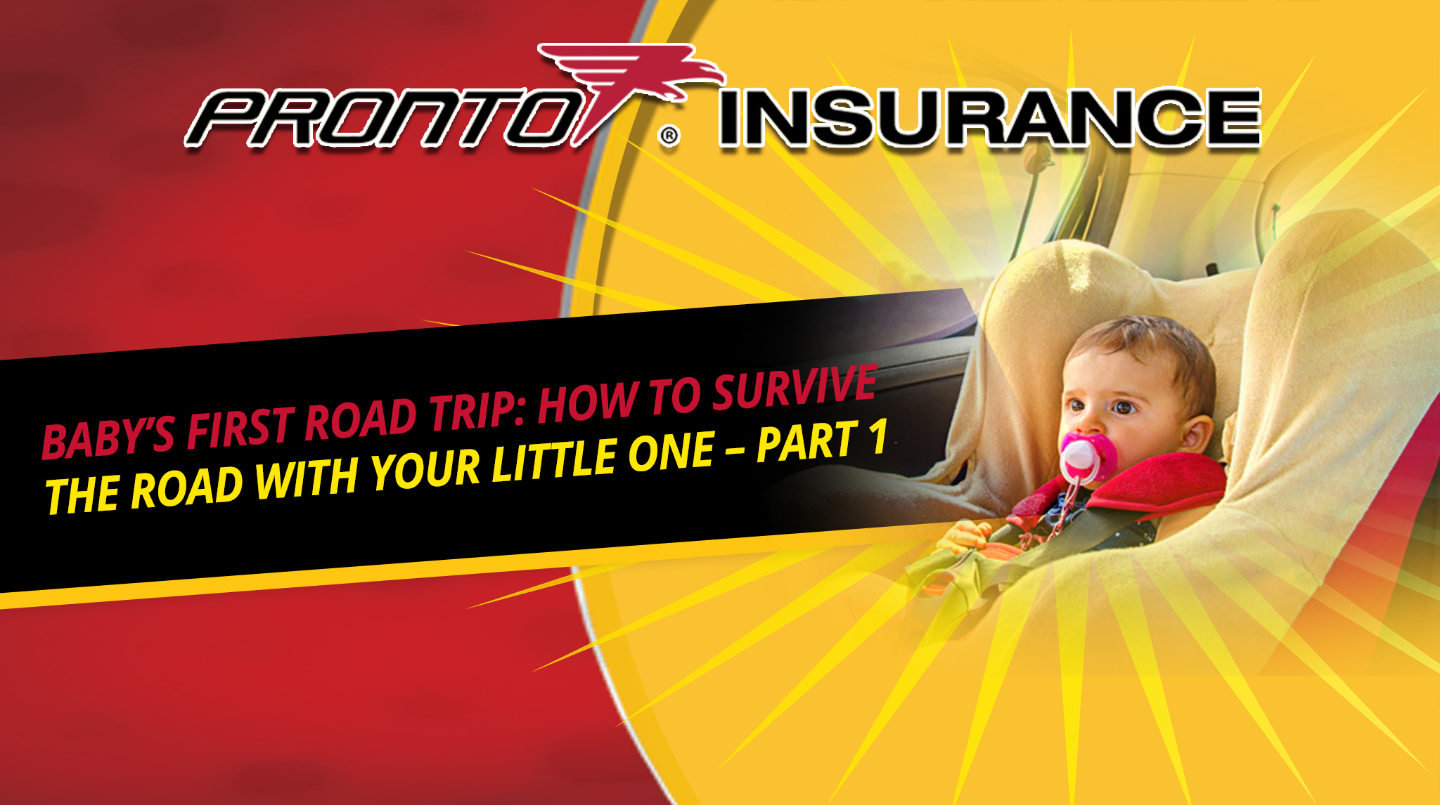 Baby's First Road Trip: How to Survive the Road With Your Little One – Part 1