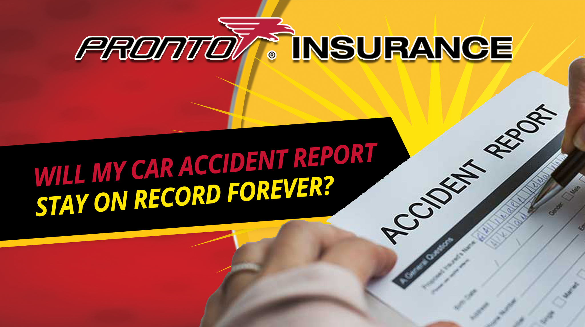Will My Car Accident Report Stay on Record Forever?